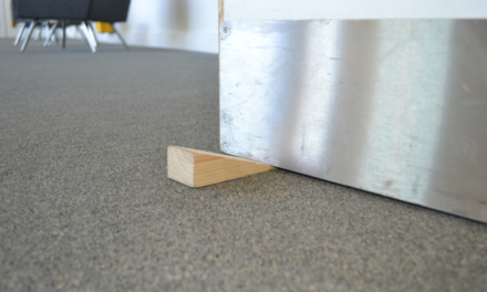 53 per cent of fire safety professionals have seen an increase in fire door wedging