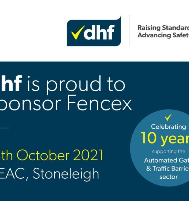 DHF continues to drive its 'gate safety' message at this year's Fencex