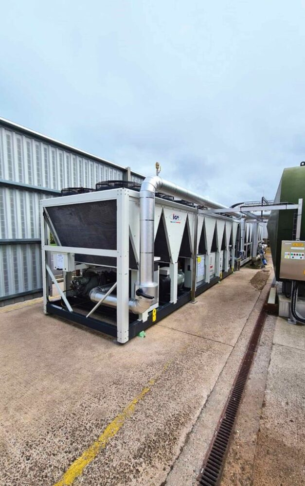 Major dairy processing plant moves away from ammonia-based cooling with bespoke system from ICS Cool Energy
